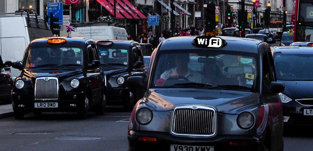 Free high speed wi-fi coming to London taxi cabs