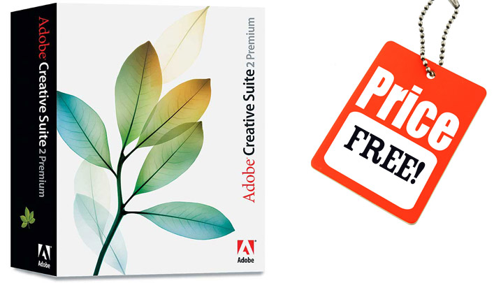 Adobe giving away FREE copies of CS2 software - here's the download links for Photoshop, Illustrator, Premiere Pro and more!