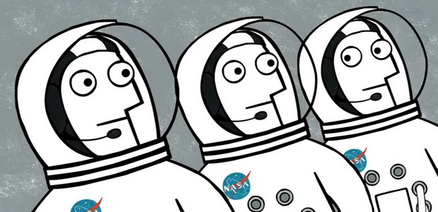 The Life Of An Astronaut explained in enchanting video animation