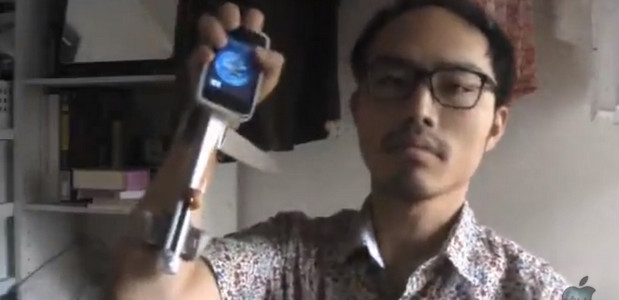 Man invents flaky iPhone quick-draw system. World wonders why
