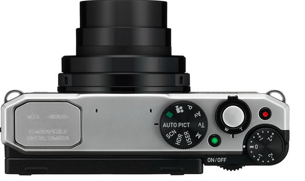 Pentax MX-1 compact enthusiast camera packs fast 4x zoom lens and brass top plate controls