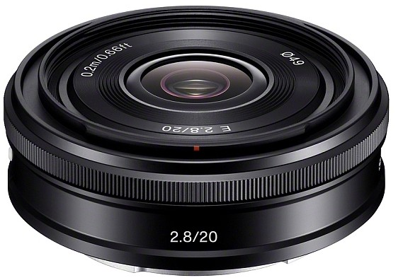 Sony adds 20mm pancake and 18-200mm power zoom to their E-mount lens range