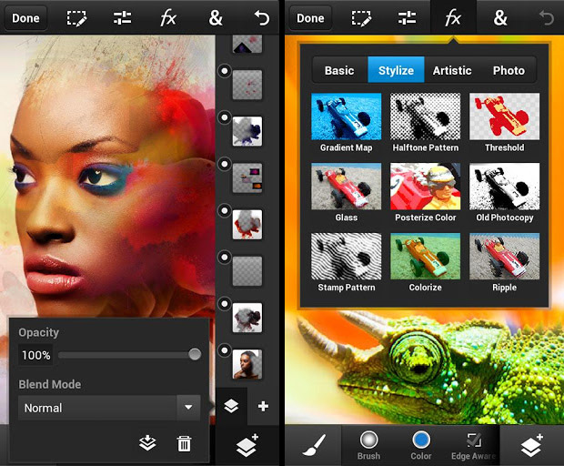 Adobe releases Photoshop Touch photo editing app for Android and iOS smartphones