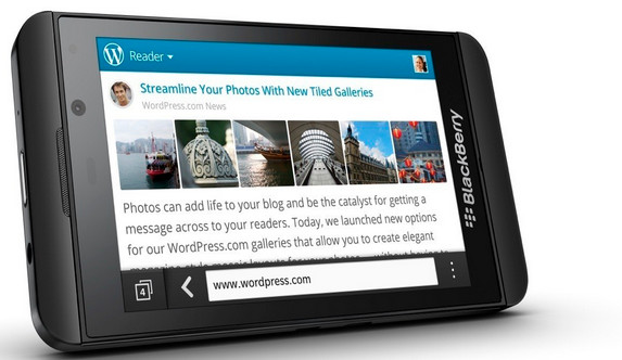 BlackBerry Z10 selling like hot cakes in the UK insists BlackBerry