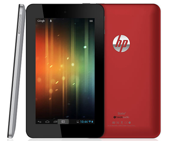 HP announces their first Android tablet, the budget-priced HP Slate 7
