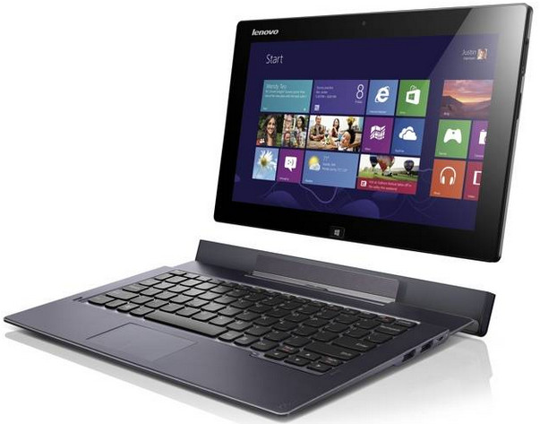 Lenovo ThinkPad Helix Windows 8 premium laptop to ship in early March