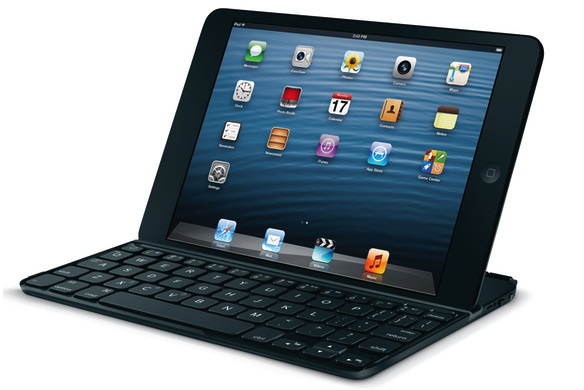 Logitech Ultrathin Keyboard Mini for the iPad Mini adds tactile typing