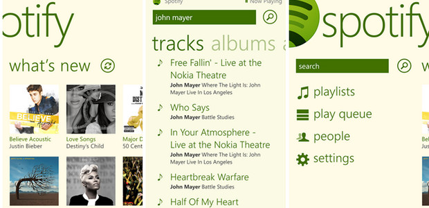 Spotify finally arrives for Windows Phone 8 users