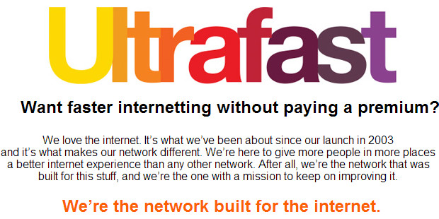 Three network says it won't charge extra for 4G/LTE ultrafast network
