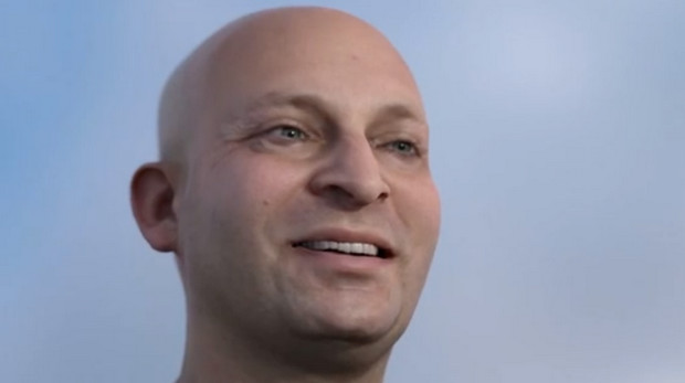 Activision shows off an animated human head that looks unbelievably realistic (apart from the teeth)