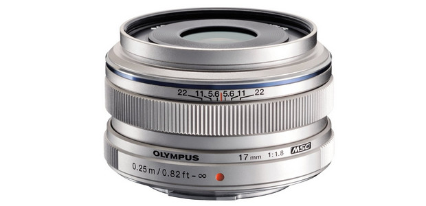 Olympus 17mm f/1.8 Micro Four Thirds lens picks up mighty fine reviews