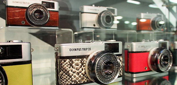 Stunning refurbished Olympus Trip 35 cameras serve up oodles of old school cool