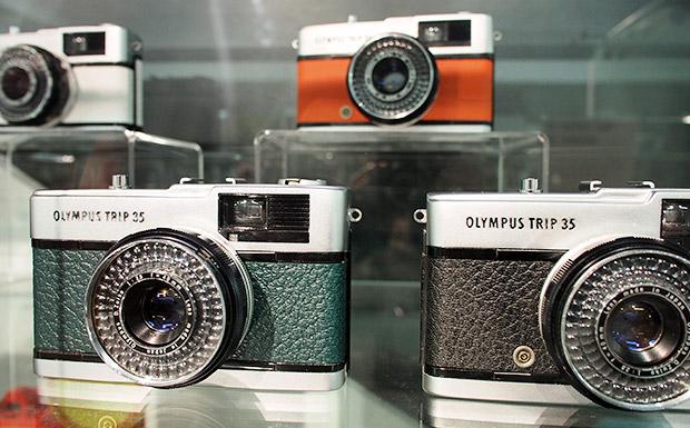 Stunning refurbished Olympus Trip 35 cameras serve up oodles of old school cool