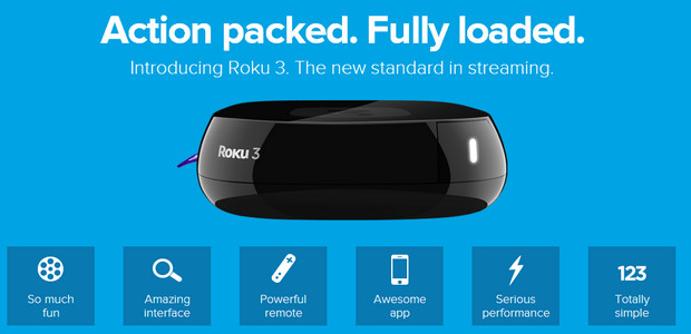 Roku 3 set-top box media streaming box announced: cheap, powerful and shiny