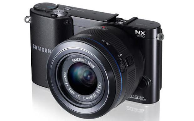 Samsung NX1100 wi-fi camera packs 20.3MP APS-C-sized CMOS sensor
