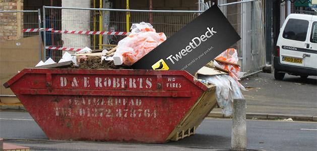Evil Twitter kills off Tweetdeck app to focus on web-based application