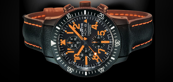Fortis B-42 Black Mars 500 chronograph - a stunning watch with an out of this world price tag