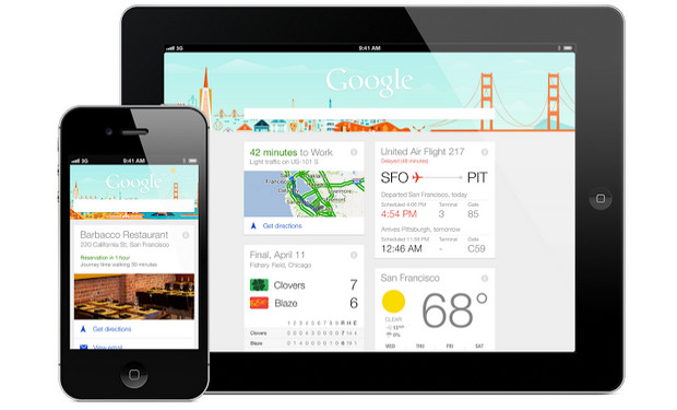 Google Now comes to the iPhone and iPad, via the Google Search app