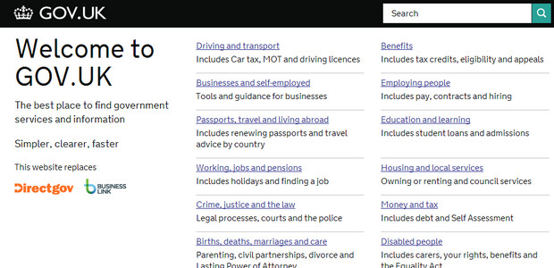 Design Museum declares the ultra simple Gov.uk website to be the 'Best Design of the Year'
