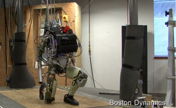 Move over Big Dog - here comes the humanoid robot Petman in video action