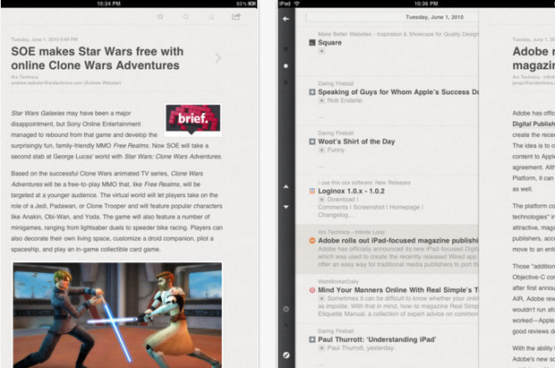 Reeder app for Mac and iPad fiven away free for limited period - get in quick