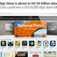 With Apple's App Store cruising past the incredible landmark figure of 50 billion apps downloaded, the company has released updated lists of its all-time top iPhone and iPad apps.