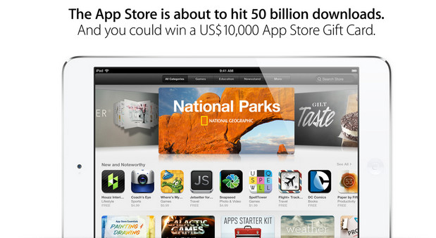 Apple reveals top 50 apps of all time as App Store hits 50 billion downloads