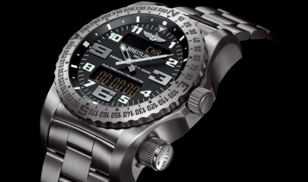 Breitling Emergency II watch packs dual frequency distress beacon for go-getting rugged types