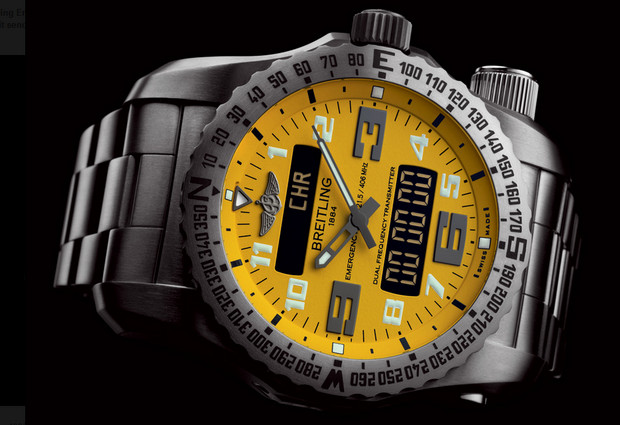 Breitling Emergency II watch packs dual frequency distress beacon