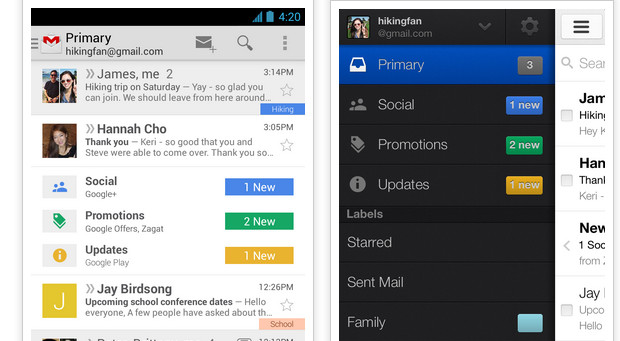 Google adds some clever stuff to GMail with inbox groups and tabs