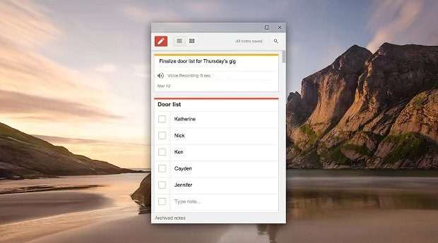 Google Keep note-taker gets even better with Chrome app