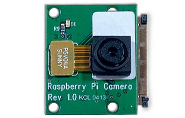 Raspberry Pi camera module released offering 5MP still and 1080p video
