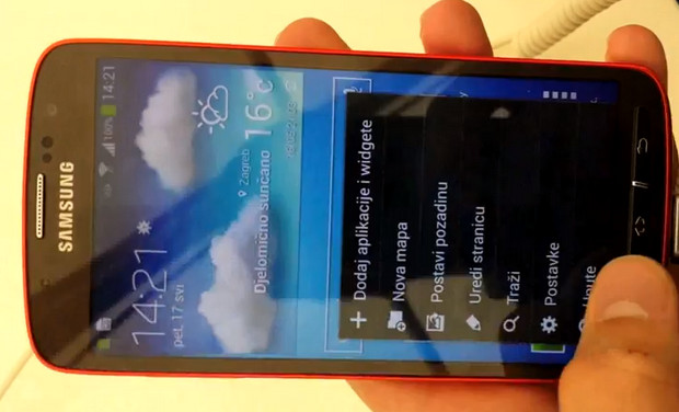 Samsung Galaxy S4 Active rugged, waterproof phone appears in video leak