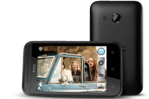 HTC Desire 200 - a cheap and cheerful Android smartphone with design nods to the HTC One