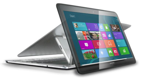 Samsung Ativ Q packs Android and Windows 8 into a laptop/tablet with 3200 x 1800 pixel screen