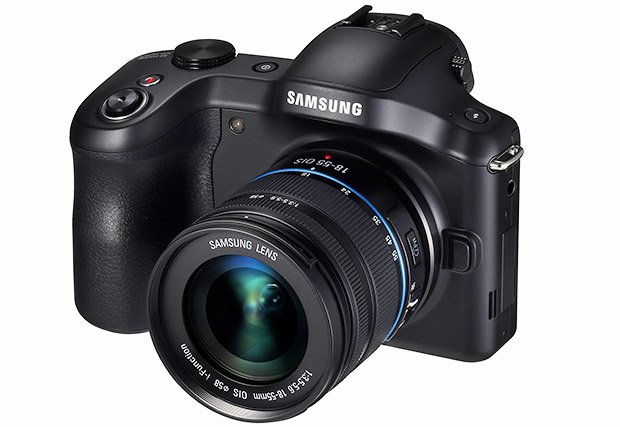 Samsung announces Android-powered Galaxy NX 20MP compact system camera
