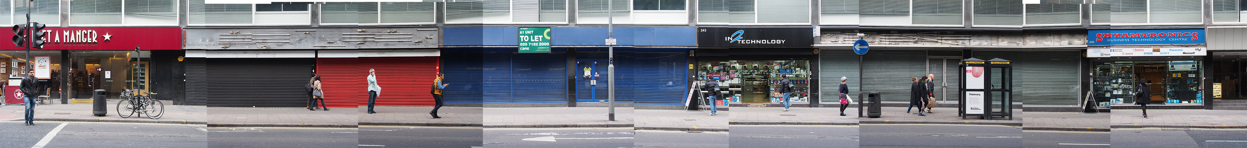 Things are looking bleak for electronics stores on Tottenham Court Road, London