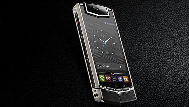 Vertu adds red and blue finishes to its ghastly T1 £7,000 Android handsets
