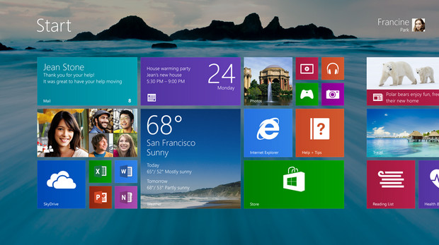 Microsoft shows off some of the new features coming up in Windows 8.1