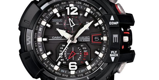 Casio G Shock Premium aviator watch