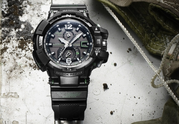 Casio G Shock Premium mixes beefy looks with digital compass and radio wave reception