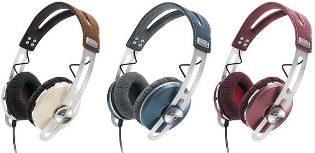 Sennheiser lays on the eye candy with their striking Momentum on-ear headphones