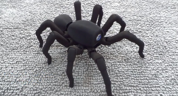 Extra creepy Spider robot looks set to terrify arachnophobics everywhere