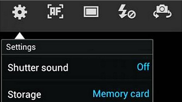 How to turn off the annoying camera shutter noise on the Samsung Galaxy S4