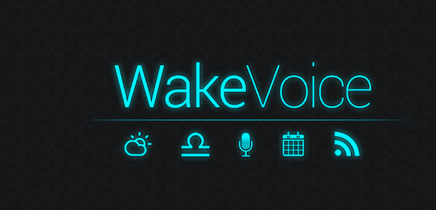 WakeVoice alarm app for Android lets you strike up a conversation