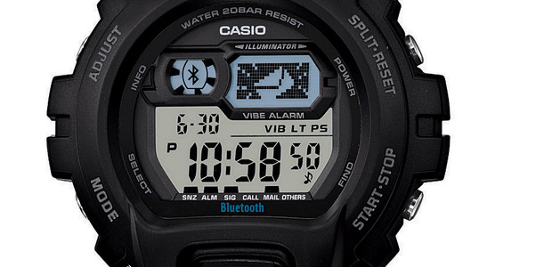 Casio G-SHOCK GB-6900B/X6900B Bluetooth watches offer smartphone music player connectivity