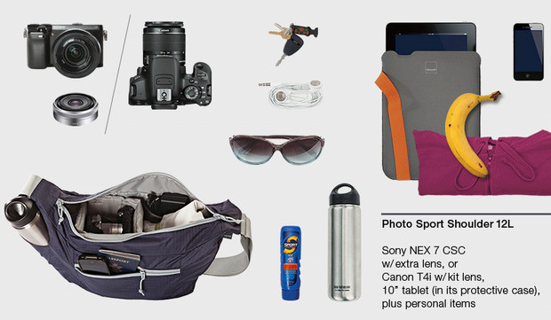 Lowepro Photo Sport Shoulder bag serves up a lightweight, flexible option for photographers