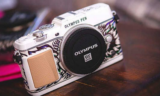 Olympus lose their senses and release a £16,000 E-P5 Art Edition camera - with a Vespa scooter thrown in
