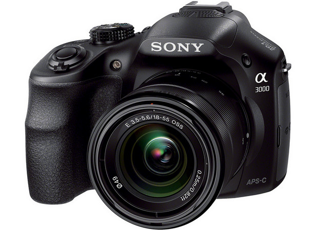 Sony throws down the A3000, a 20MP APS-C mirrorless snapper with 18-55m zoom lens for just $399