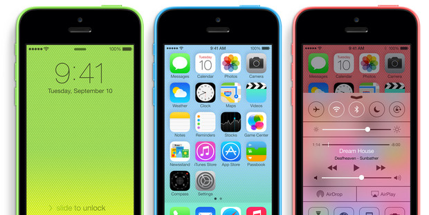 Apple announces iPhone 5s and iPhone 5C handsets